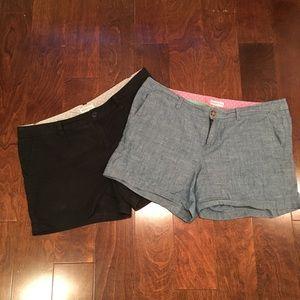 Lot of Merona shorts